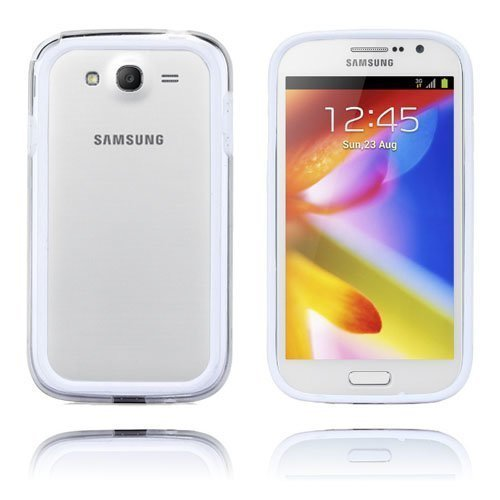 Anti-Shock Valkoinen Samsung Galaxy Grand Duos Suojakehys