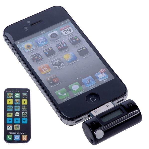 Apple Autolaturi Fm Lähettimellä Ja Kaukosäädöllä