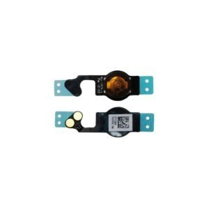 Apple Iphone 5 Kotinäppäin + Flex Kaapeli Musta