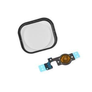 Apple Iphone 5c Kotinäppäin + Flex Kaapeli Valkoinen