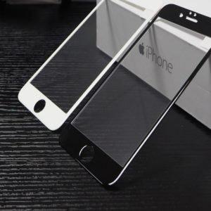 Apple Iphone 6 / 6s Panssarilasi 3d Full Cover Musta