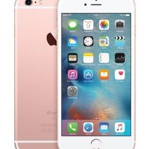 Apple Iphone 6s Plus 128 Gt Rose Gold Puhelin