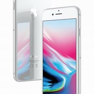 Apple Iphone 8 256 Gt Silver Puhelin