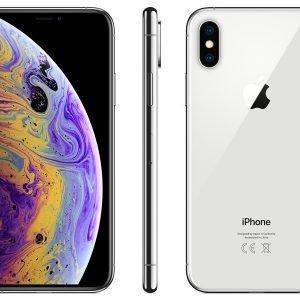 Apple Iphone Xs 256gb Silver Puhelin