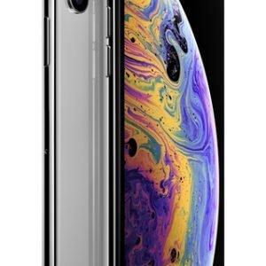 Apple Iphone Xs 64gb Silver Puhelin