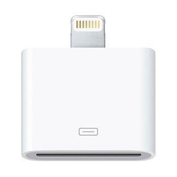 Apple Lightning / 30-nastainen Sovitin MD823ZM/A iPhone 6 / 6S iPad Pro Valkoinen