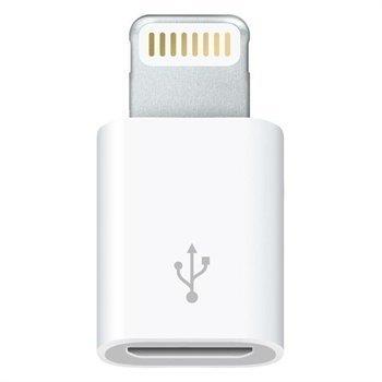 Apple Lightning / Micro-USB -Sovitin MD820ZM/A iPhone 6 / 6S iPad Pro Valkoinen