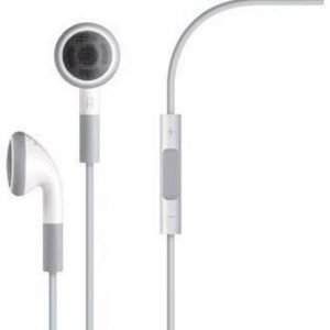 Apple MB770 Earbuds with Mic3 for iPhone White Bulk