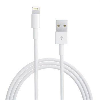 Apple MD818ZM / Lightning / USB-kaapeli iPhone 6 / 6S iPad Mini 4 Valkoinen 1m
