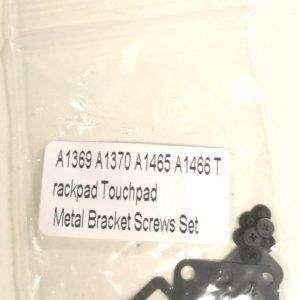 Apple Macbook Air Trackpad Metallikiinnikkeet + Ruuvit A1369 A1370 A1465 A1466