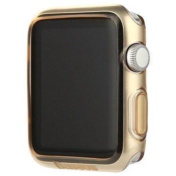 Apple Watch Baseus Simple Series Ultraohut TPU-Kotelo 38mm Kultainen