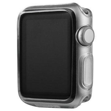 Apple Watch Baseus Simple Series Ultraohut TPU-Kotelo 38mm Läpinäkyvä