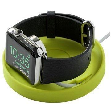 Apple Watch Bluelounge Kosta Latausasema Limenvihreä