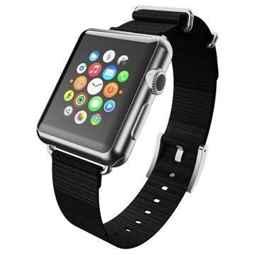 Apple Watch Incipio Nato Style Ranneke 42mm Musta / Hopea