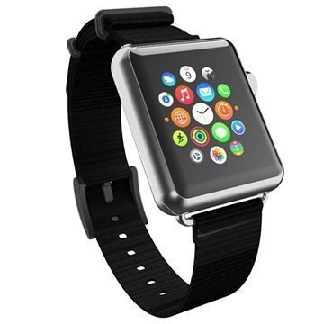 Apple Watch Incipio Nato Style Ranneke 42mm Musta