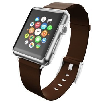 Apple Watch Incipio Premium Nahkaranneke 38mm Espresso