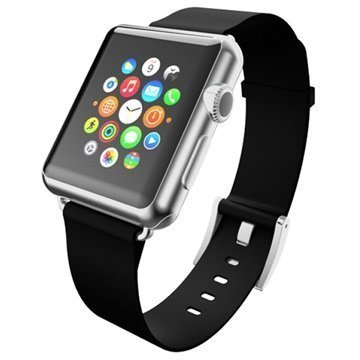 Apple Watch Incipio Premium Nahkaranneke 38mm Pikimusta