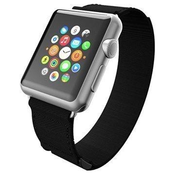 Apple Watch Incipio Stitch Jacquard Ranneke 42mm Musta