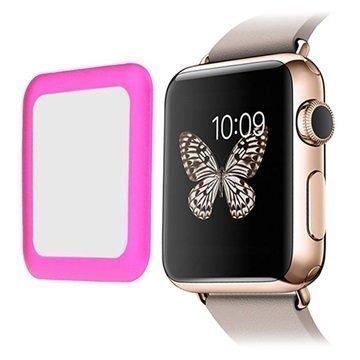 Apple Watch Link Dream Karkaistu Lasi Näytönsuoja 42mm Kuuma Pinkki