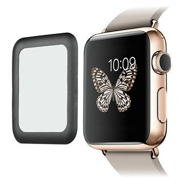 Apple Watch Link Dream Karkaistu Lasi Näytönsuoja 42mm Musta