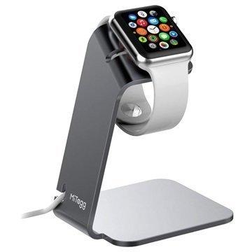 Apple Watch MiTagg NuStand Pöytäteline Avaruusharmaa