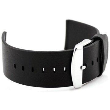 Apple Watch Nahkainen Ranneke 38mm Musta