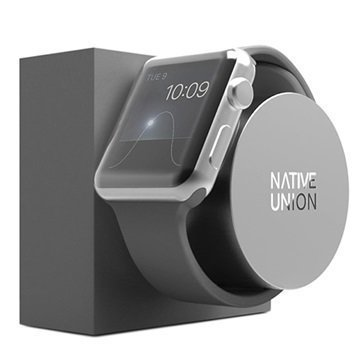 Apple Watch Native Union Telakka Harmaa