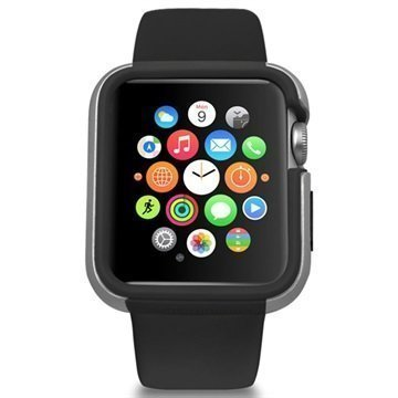 Apple Watch Ozaki O!Coat Shockband Suojakotelo 42mm Musta