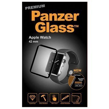 Apple Watch PanzerGlass Premium Full Frame Näytönsuoja 42 mm Musta