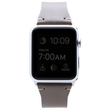 Apple Watch SLG Design D7 Buttero Rannehihna 38mm Beige