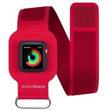 Apple Watch Series 1/2 Twelve South ActionSleeve Armband 38mm Red