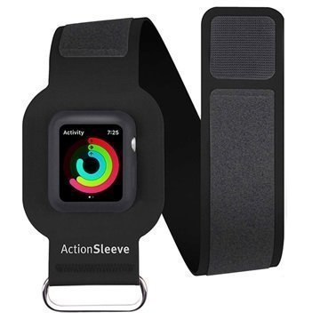 Apple Watch Series 1/2 Twelve South ActionSleeve Armband 42mm Black