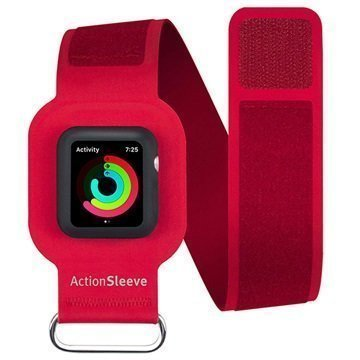 Apple Watch Series 1/2 Twelve South ActionSleeve Armband 42mm Red