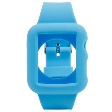 Apple Watch Silikoninen Suojakuori 38mm Sininen