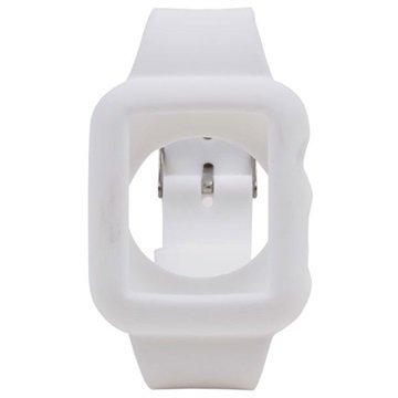 Apple Watch Silikoninen Suojakuori 38mm Valkoinen