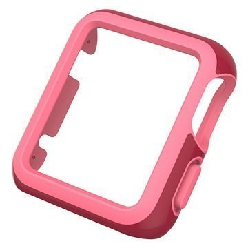Apple Watch Speck CandyShell Fit Kotelo 42mm Punainen / Pinkki