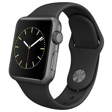 Apple Watch Sport Kello MJ2X2FD/A Alumiini 38mm Tähtiharmaa / Musta