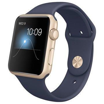 Apple Watch Sport MLC72FD/A 42mm Gold / Blue