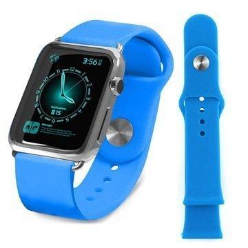 Apple Watch Tuff-luv Silikoniranneke 38mm Sininen