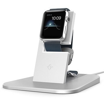 Apple Watch Twelve South HiRise Latausjalusta Hopea