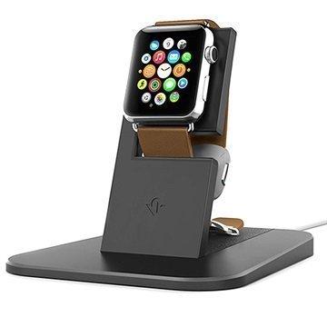 Apple Watch Twelve South HiRise Latausjalusta Musta