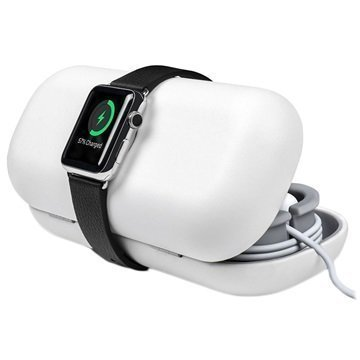 Apple Watch Twelve South TimePorter Jalusta Valkoinen