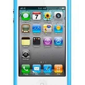 Apple iPhone 4 & 4S Bumper Blue