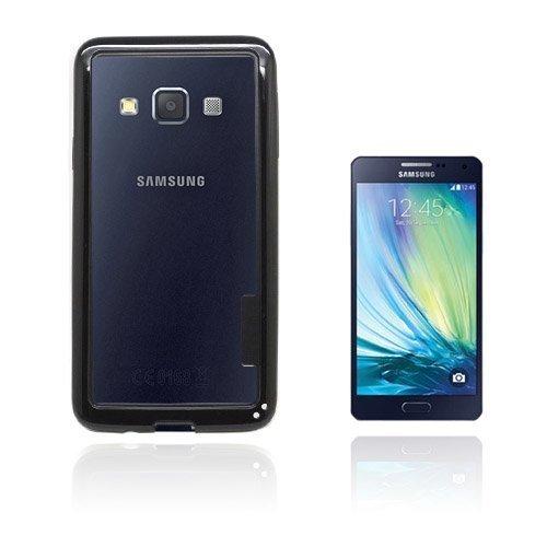 Arc Edge Samsung Galaxy A3 Bumper Suojakehys Musta