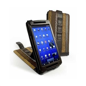 Archos 70b Tuff-Luv Marrakesh Multi-View Faux Leather Case Brown