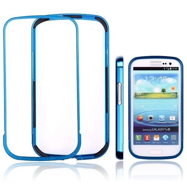 Area 51 Alu Bumper Blue Samsung Galaxy S3 Aluminium Bumper