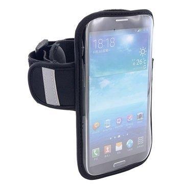 Arkon ARMBAND6 Käsivarsikotelo iPhone 6 Plus / 6S Plus HTC Desire 820 Musta