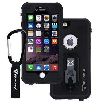 Armor-X MX-AP5S iPhone 6 Plus/6S Plus Vedenkestävä Kotelo Musta