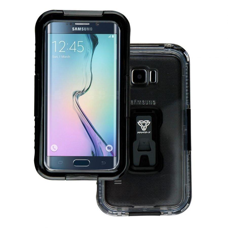 Armor-X Samsung Galaxy S6 / S6 Edge IPX7 Vedenkestävä suojakotelo MX-SG6