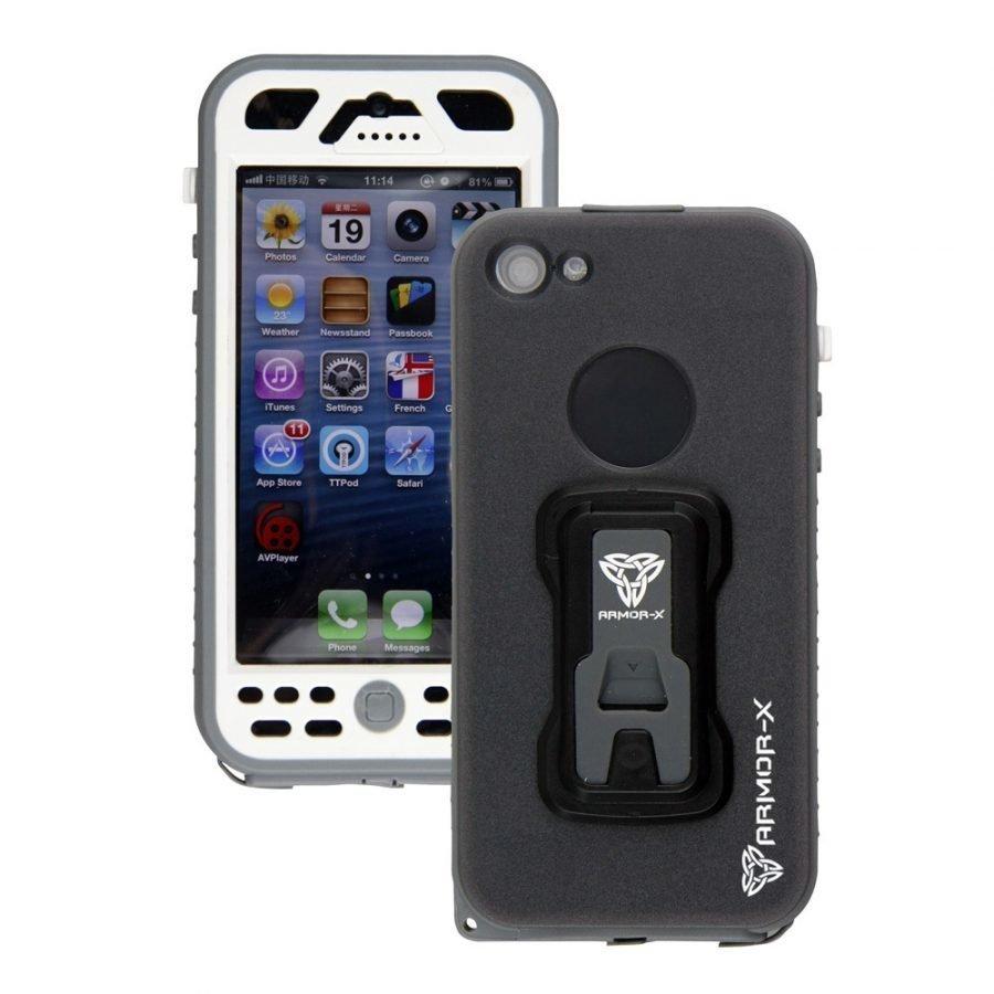 Armor-X Vedenkestävä kotelo iPhone 5/5S Valkoinen
